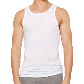 Bonds Coral Island Athletic Singlet M738 White