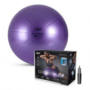 PTP Core Ball W/Pump CBPRO 55CM Pearl Violet