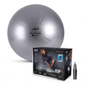 PTP Core Ball W/Pump CBPRO 75CM Steel Grey