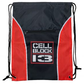Cellblock 13 Zipper String Backpack