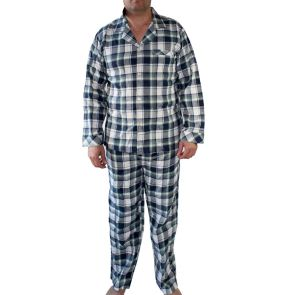 Coast Long Pyjama Set MLPJ7825 Green Plaid
