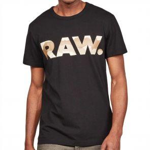 G-Star Raw Graphic 6 T-Shirt D15245 Dark Black