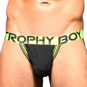Andrew Christian Trophy Boy Score Jock 91794 Black