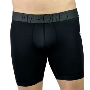 Emporio Armani Ciclista Microfiber Boxer Brief 111324 3A558 Black