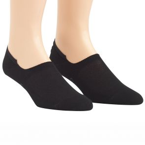 Calvin Klein Mens Caleb No Show Liner Socks 2-Pack ECL172 Black