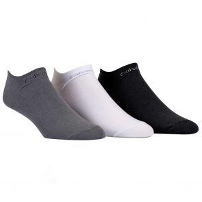 Calvin Klein Owen Coolmax Liner Socks 3 Pack ECL376 Assorted