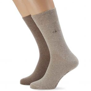 Calvin Klein Casual Flat Knit Cotton 2-Pack ECP275 Assorted