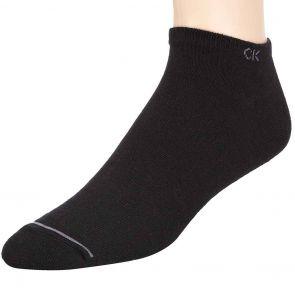 Calvin Klein Mens Casual Socks 3 Pack ECR274 Black