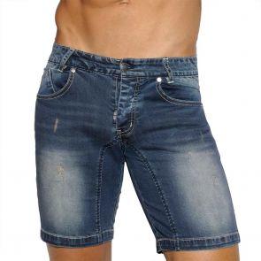ES Collection Mid Lenght Short Jeans ESJ035 Navy