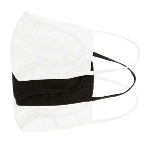 Bonds Face Mask 3-Pack ZYML Black and White