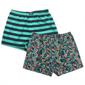 Coast Clothing Cotton Boxers 2 Pack 19CCU505 Floral