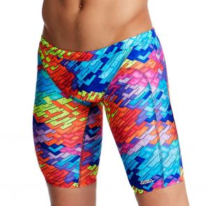 Funky Trunks Training Swim Jammers FT37M Layer Cake