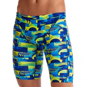 Funky Trunks Training Swim Jammer FT37M Magnum Pi