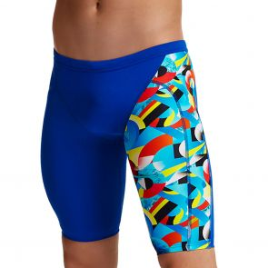 Funky Trunks Training Swim Jammers FT37M Planet Funky