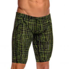 Funky Trunks Training Swim Jammers FT37M Slash'n Burn