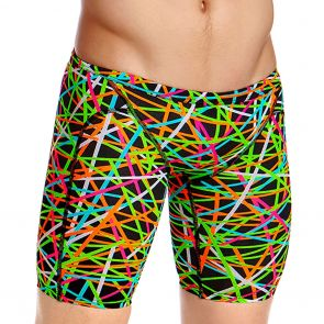 Funky Trunks Training Swim Jammers FT37M Strapped In