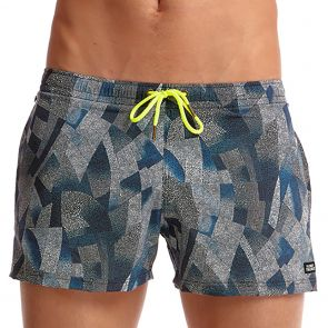 Funky Trunks Shorty Shorts Swim Short FT40M Pointillism