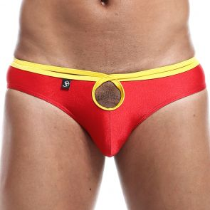 Joe Snyder Hole Bikini Brief HOL01 Red