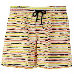 Nookie Beach Good Vibrations Boardies Swim Short NBS10916 Fiesta
