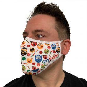 Hey Franky Premium Reusable Face Mask HFMSK01 Emoji