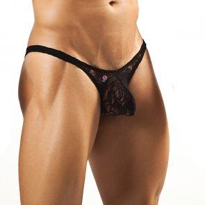 Joe Snyder Bulge Bikini JSBUL01 Black Lace