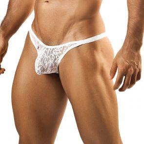 Joe Snyder Bulge Bikini JSBUL01 White Lace