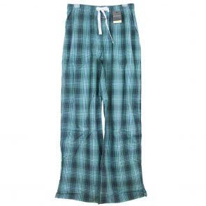 Macpherson Man PJ Pants/Lounge Wear M25-125 Indigo Green Plaid Check