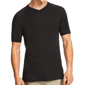 Bonds V-Neck Raglan T-Shirt M976 Black