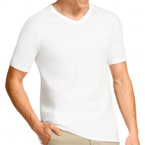 Bonds V Neck Raglan Tee 2 Pack M9762W White