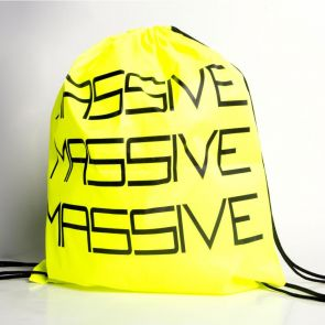 Andrew Christian Massive String Backpack 8998 Yellow