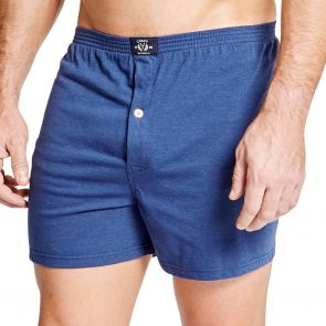 Coast Mens Knit Boxer Short MCBS2380 Cobalt