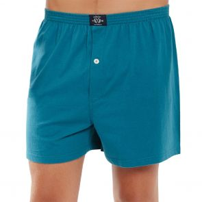 Coast Mens Knit Boxer Short MCBS2380 Green