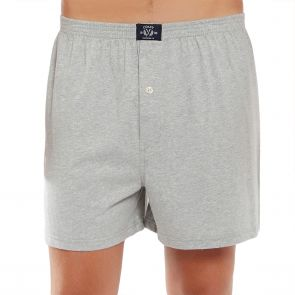 Coast Mens Knit Boxer Short MCBS2380 Grey Marle