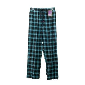 Mitch Dowd Cotton Pyjama Pants Q922P Black/Blue Check