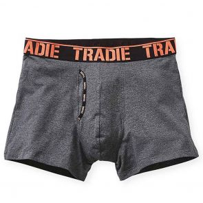 Tradie Man Front Trunk MJ1621SK Charcoal Marle with Coral