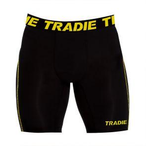 Tradie Compression Long Leg Trunk MJ1722SA Black