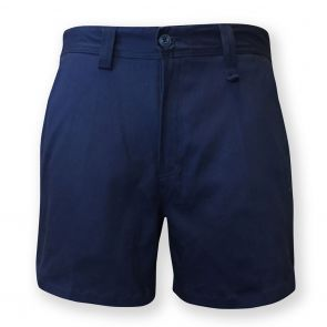 Tradie Mens Flex Slim Fit Short Length Short MJ3217SD Navy