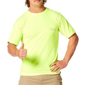 Tradie Mens Flex Hi Vis T-Shirt MJ3354ST Yellow
