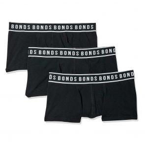 Bonds Fit Trunk 3-Pack MWXN3A Black