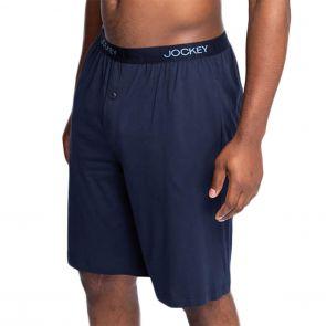 Jockey Weekender Knit Mid Long Short MXHJ1A Navy