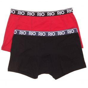 RIO Mens Hipster Trunks 2-Pack MY7G2W Multi