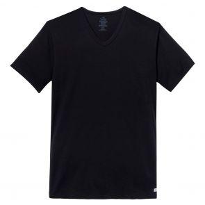 Calvin Klein Cotton Stretch V Neck Hanging Tee NB1179H Black
