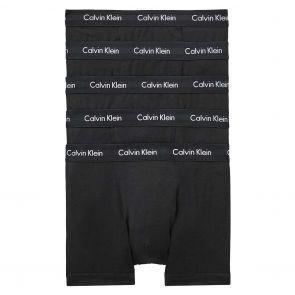 Calvin Klein Cotton Stretch 5 Pack Trunks NB2877 Black