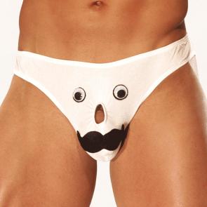Male Power Mr Nose Bikini PAK705 White