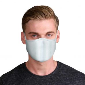 Rolling Skulls DefenderSkullPLUS Reusable 3-Layer Face Mask MSK01 Grey
