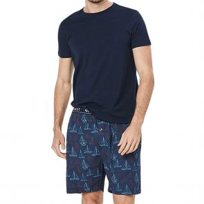 Coast Clothing Rock The Boat PJ Set 19CCS333 Navy