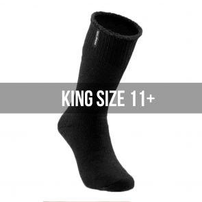 Explorer Original Cotton King Size Socks S1130K Black