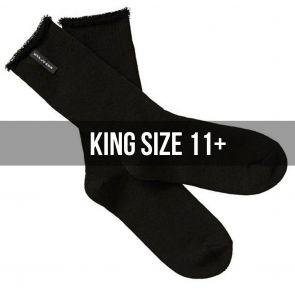 Explorer Original Wool Blend King Size Socks 2-Pack S11392 Black