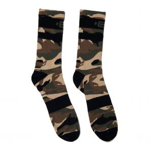ES Collection Camo Crew Socks SCK08 Camouflage