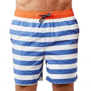 Coast Stripe Me Not Mowie Swim Boardshort SMN04C Blue